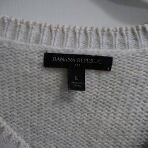 Banana Republic Factory Sweaters - Banana Republic Factory   Cable V neck Sweater
